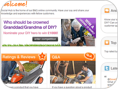 Social Commerce B&Q