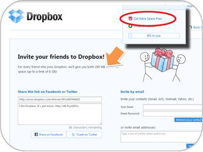 Social Commerce - Dropbox