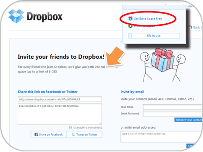 Social Commerce - Dropbox
