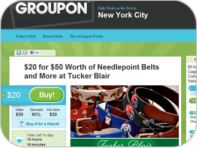 Social Commerce - Groupon