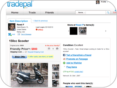 Social Commerce - TradePal