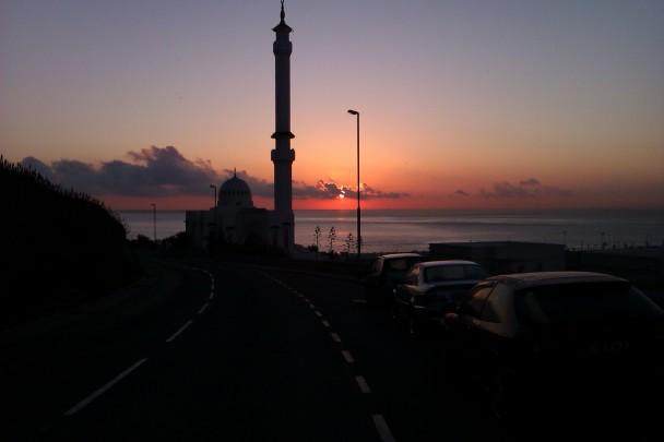 Sunrise, where Europe meets Africa