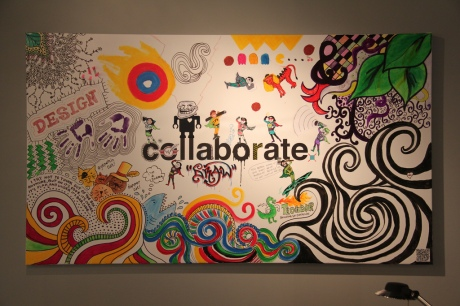 Collaboration in action at Pure VIsion (Photo courtesy of Brenderous CC)